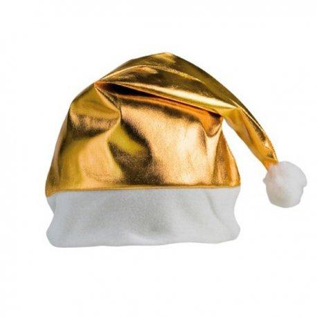 Gorro de Navidad Dorado aa799e6e76f
