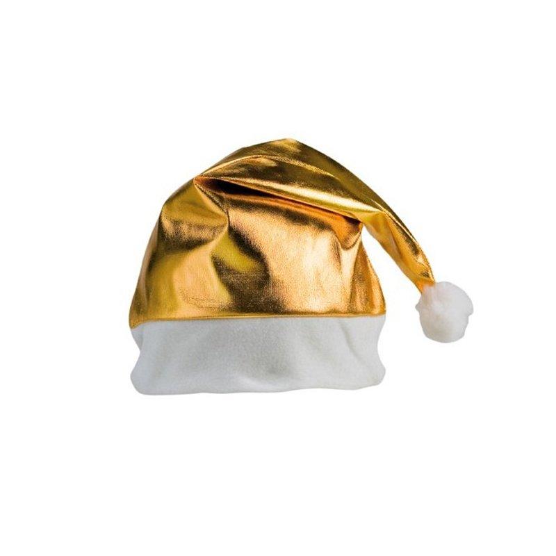 3cbad96f978c5 Gorro de Navidad Dorado