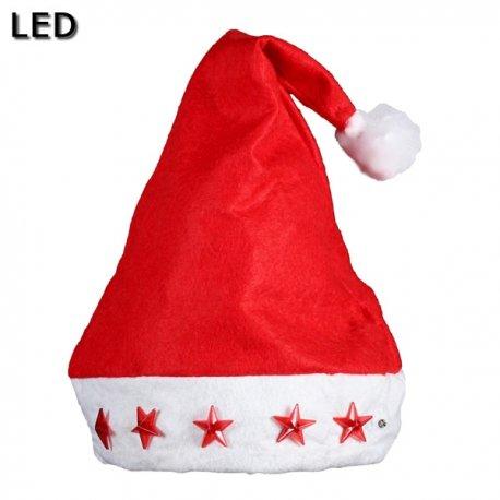 ff324088dd1 Gorro Navidad con Luces Led