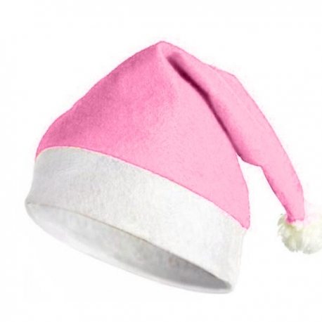 Gorro de Navidad Rosa 3371c71558e
