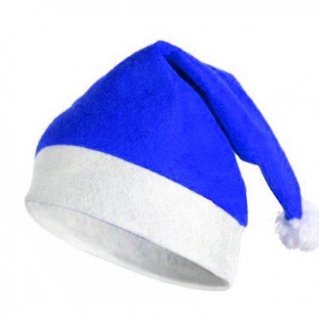 097a7a417b4ae Gorro Papa Noel Azul. Loading zoom