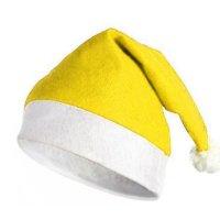 Gorro De Papa Noel Amarillo