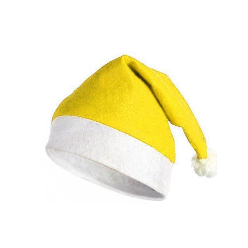 48ad46a46733c Gorro de Navidad Amarillo
