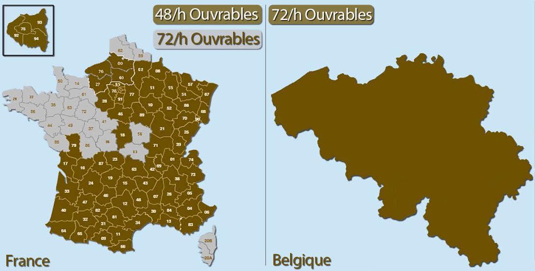 livraison france belgique noel